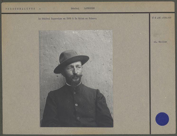 Laperrine en 1909 à In Salah