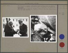 L'Abbé Breuil reçoit la Huxley Medal