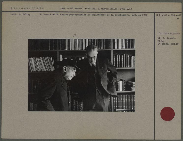Abbé Henri Breuil et Harper Kelley