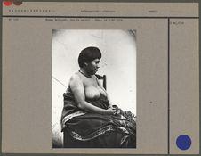 Femme Botocudo, vue de profil