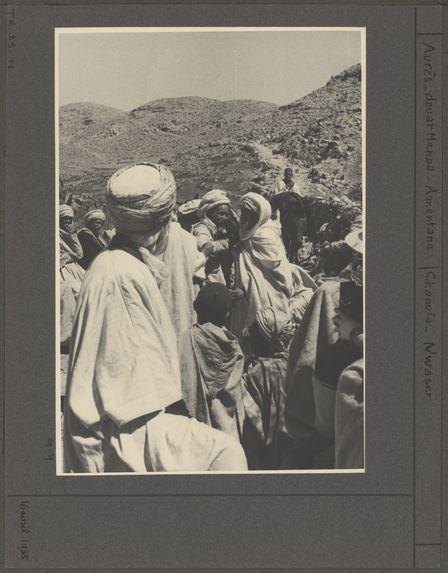 Fête donnée au retour du pélerin Zelmat Ahmed