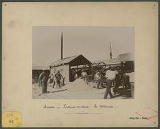 Nouméa, travaux du quai : la bétonnière