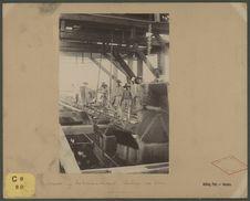 Nouméa, les travaux du quai : coulage du béton