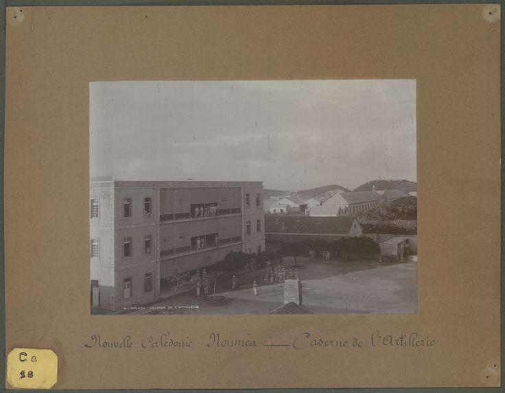 Nouméa : caserne de l'Artillerie