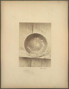 Intérieur d'une coupe peinte