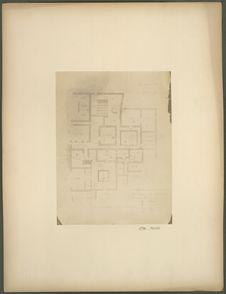Plan de la première maison toltèque