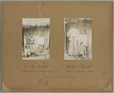 Enfants d'Alisan, Javanais, et de Mapsi, métisse 1/2 sang de Javanais et de...