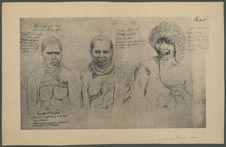 Sans titre [Portraits de Tasmaniens]