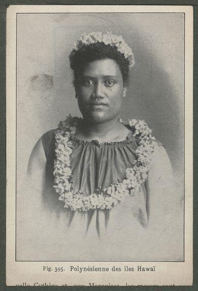 Polynésienne des îles Hawaï