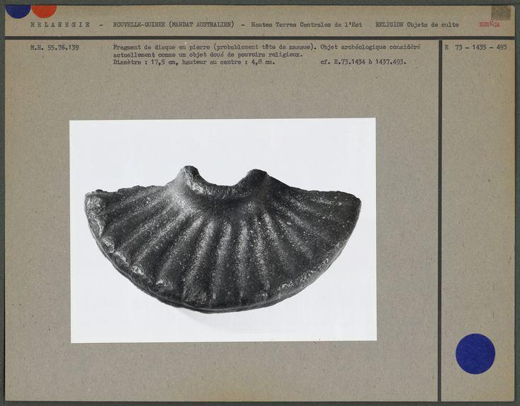 Fragment de disque en pierre