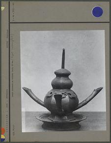 Lampe ancienne en cuivre