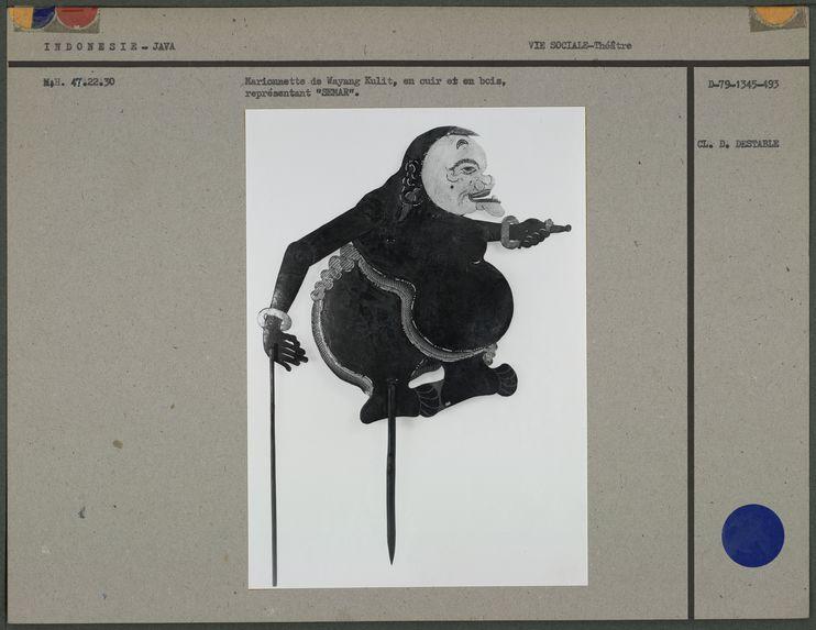 Marionnette de Wayang Kulit : Semar