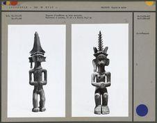 Figure d'ancêtre en bois sculpté