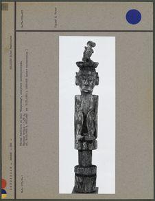 """Statue funéraire enbois """"Hampatong&quot"""