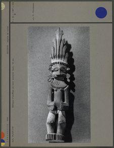 Effigie d'ancêtre, bois sculpté