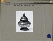 Pot à chaux en laiton ou en bronze