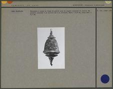 Récipient à chaux en forme d'urne