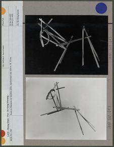 Jouet en filaments de bambou pliés