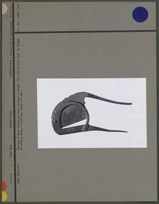 Couteau à arec en fer