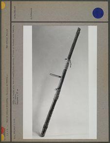 Flûte en bambou avec tube d'insufflation