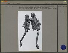 Sarauta en laiton à deux personnages