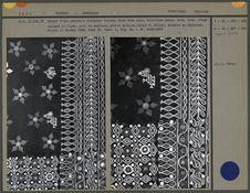 Ceinture, coton brodé de soie