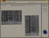 Détails d'un tissu de coton pour jupe