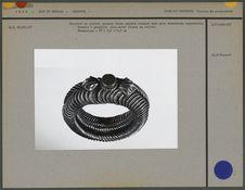 Bracelet en argent : anneaux fixes