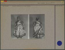 Statuette représentant une femme indienne