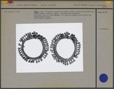"""""""Tora"""", paire d'anneaux de cheville"""