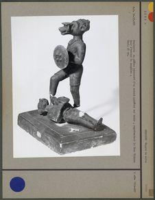 Statuette en plâtre