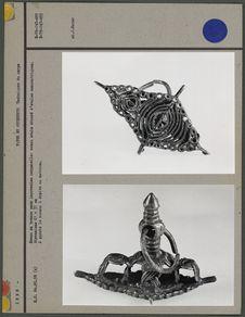 Sceau en bronze pour impressions corporelles