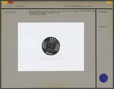 Sceau en bronze en forme de disque