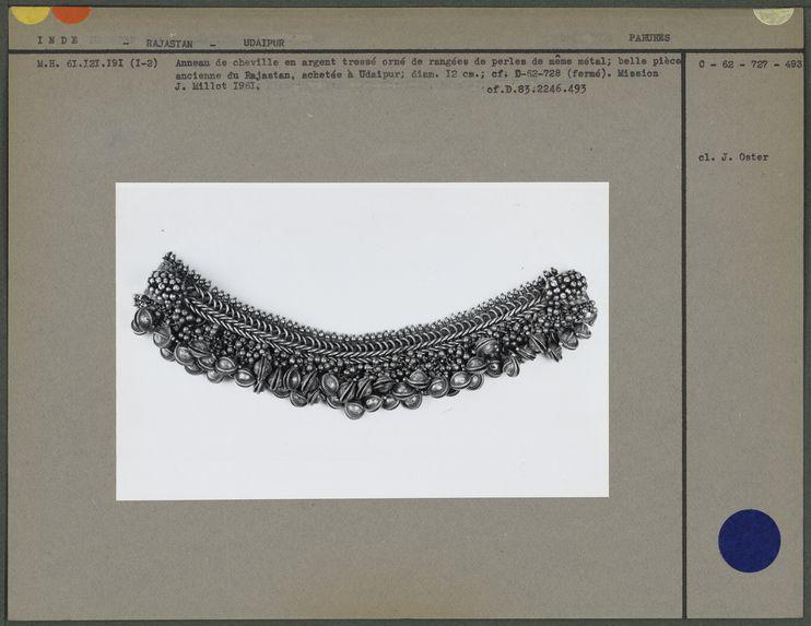 Bracelet de cheville, ancien, ouvert