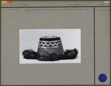 Chapeau de feutre, en tissu lamé