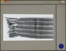 Ceinture en laine tissée