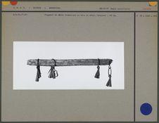 Fragment de bâton chamanique
