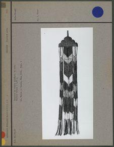Ornement de temple lamaïque, en soie