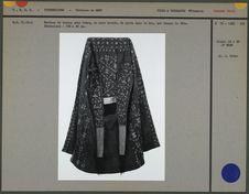Manteau de dessus pour femme en soie