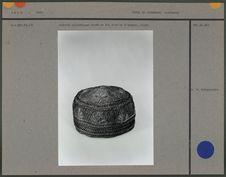 Calotte cylindrique brodé