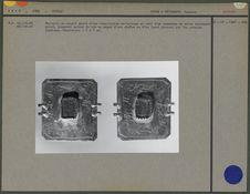 Pectoral en argent gravé d'une inscription