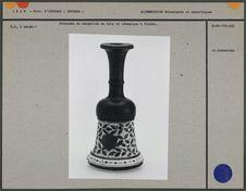 Fourneau de narghileh en bois et céramique
