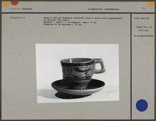 Tasse à thé en céramique vernissée