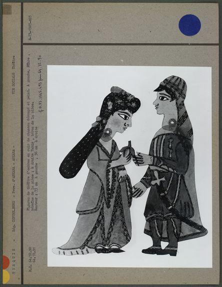 Figures de théâtre d'ombres
