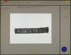 Bracelet fait d'un ruban : 5 turquoises