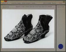 Chaussures de femme en velours