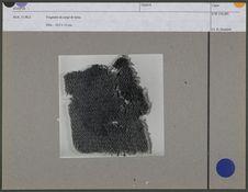 Fragment de sergé de laine