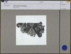 Fragment de tapisserie polychrome