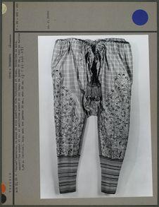 Grand pantalon de soie