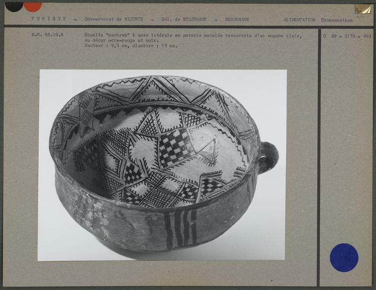 Ecuelle, en poterie